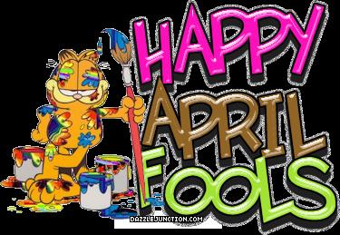 April Fools Day April Fools Garfield quote.