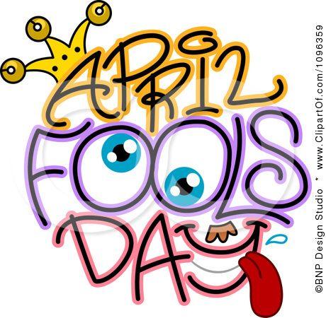 Clip art april fools day.