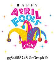 April Fools Day Stock Illustrations.