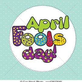 april fools day clip art can stock photo.