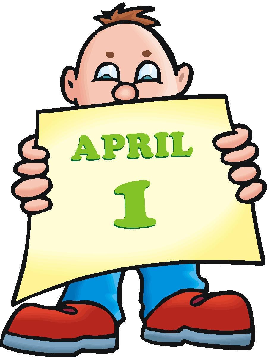 April Fools Sailboat Free Clip Art.