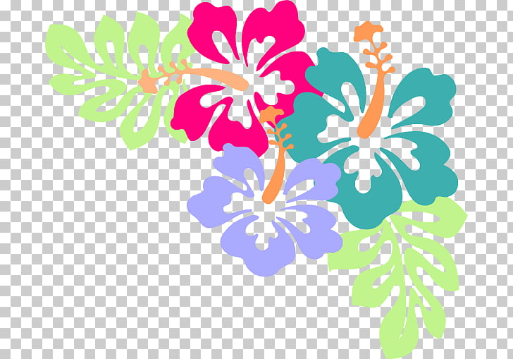 Hawaiian Flower , April Showers s PNG clipart.