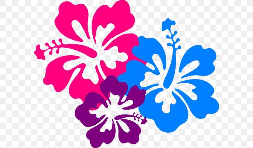 Hawaiian Hibiscus Flower Clip Art, PNG, 600x482px, Hawaii.