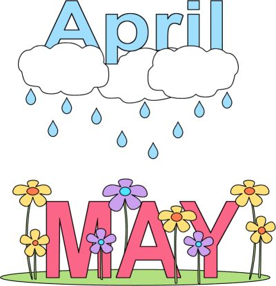Showering clipart april month, Showering april month.