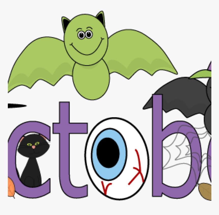 Clip Art For October Fun Month Of October Halloween.
