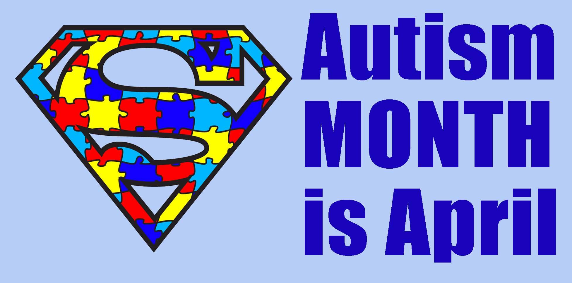 Autism Awareness Day April 2nd.