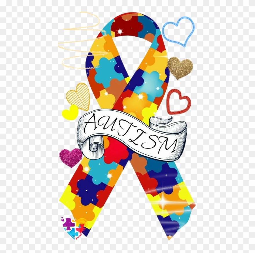 April Is Autism Awareness Month Clip Art.