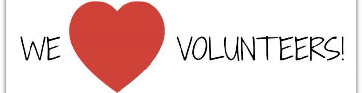 April is Volunteer Appreciation Month.
