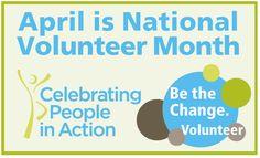 30 Best National Volunteer Month images.