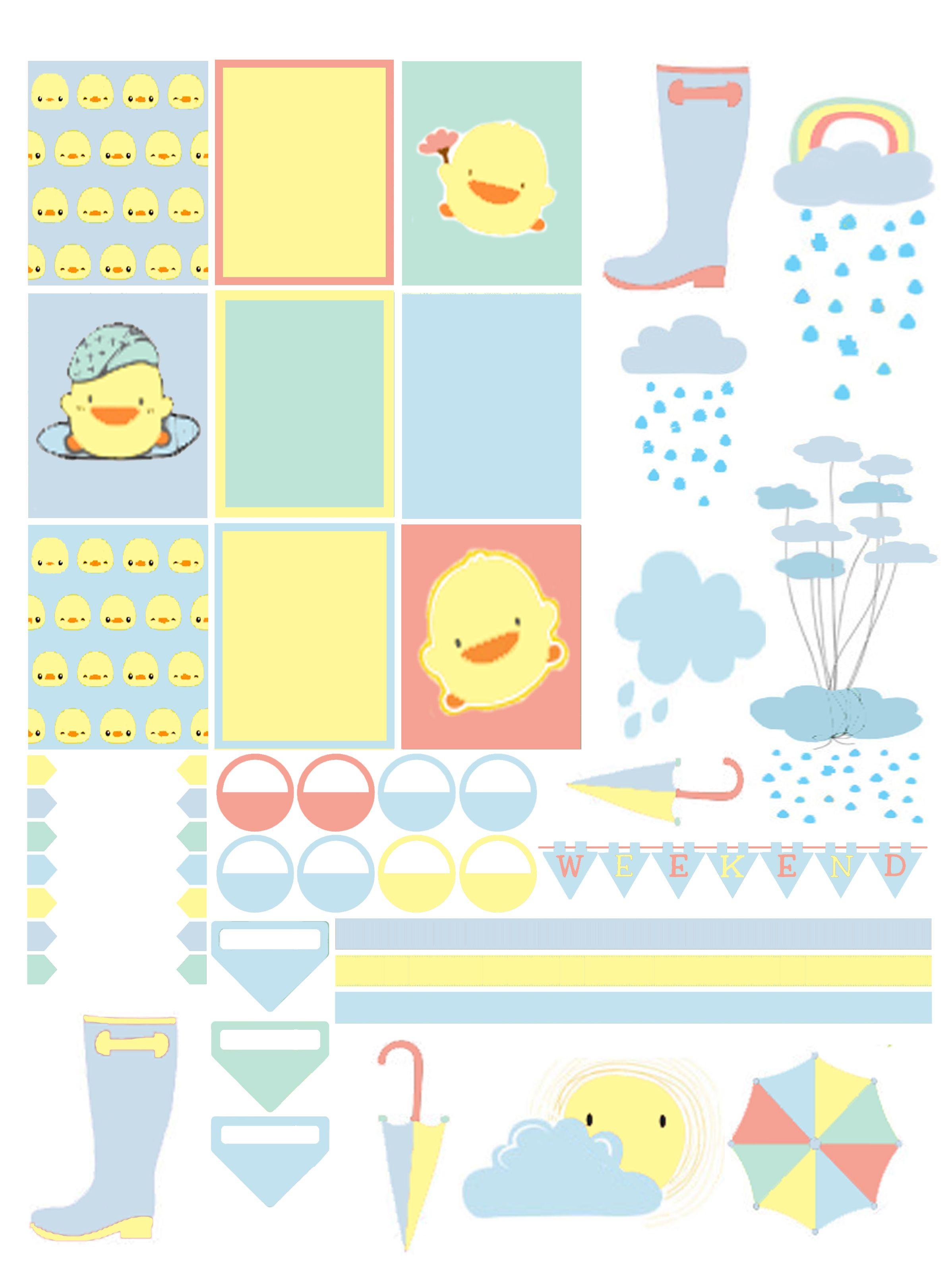 Planner Series: April Showers 2.
