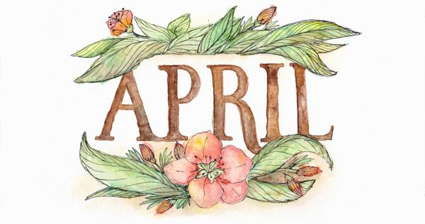 Happiness is April 2015 Free Printable Calendar and.