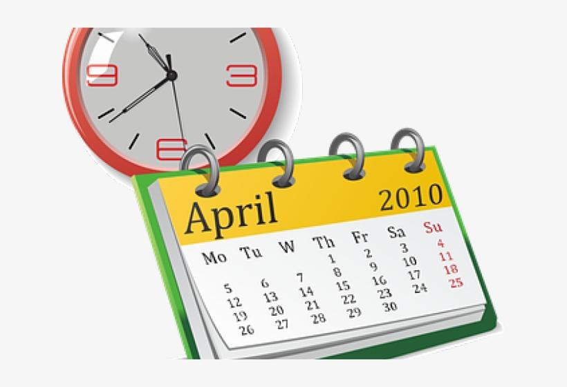 Date Clipart Planning Calendar.
