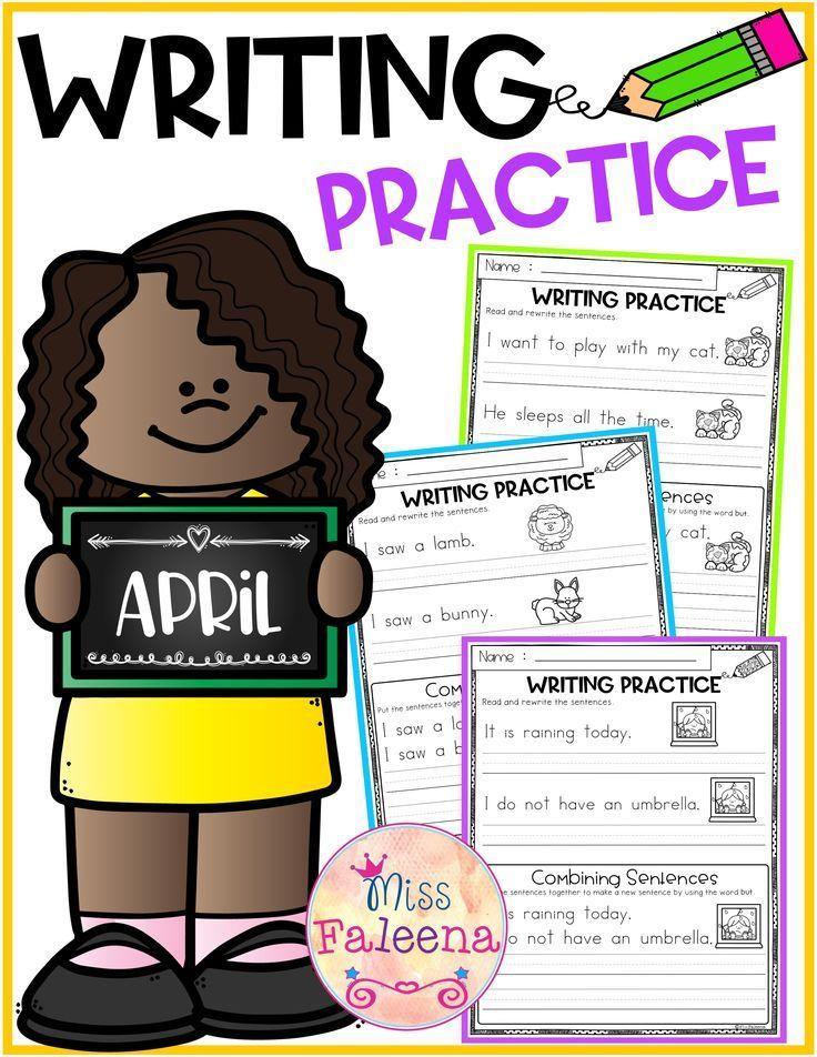 April Writing Practice (Combining Sentences).