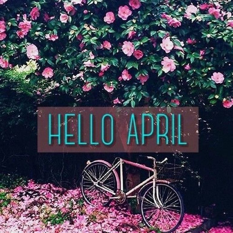 Hello April Images Pictures Photos Wallpapers Clipart Birth.