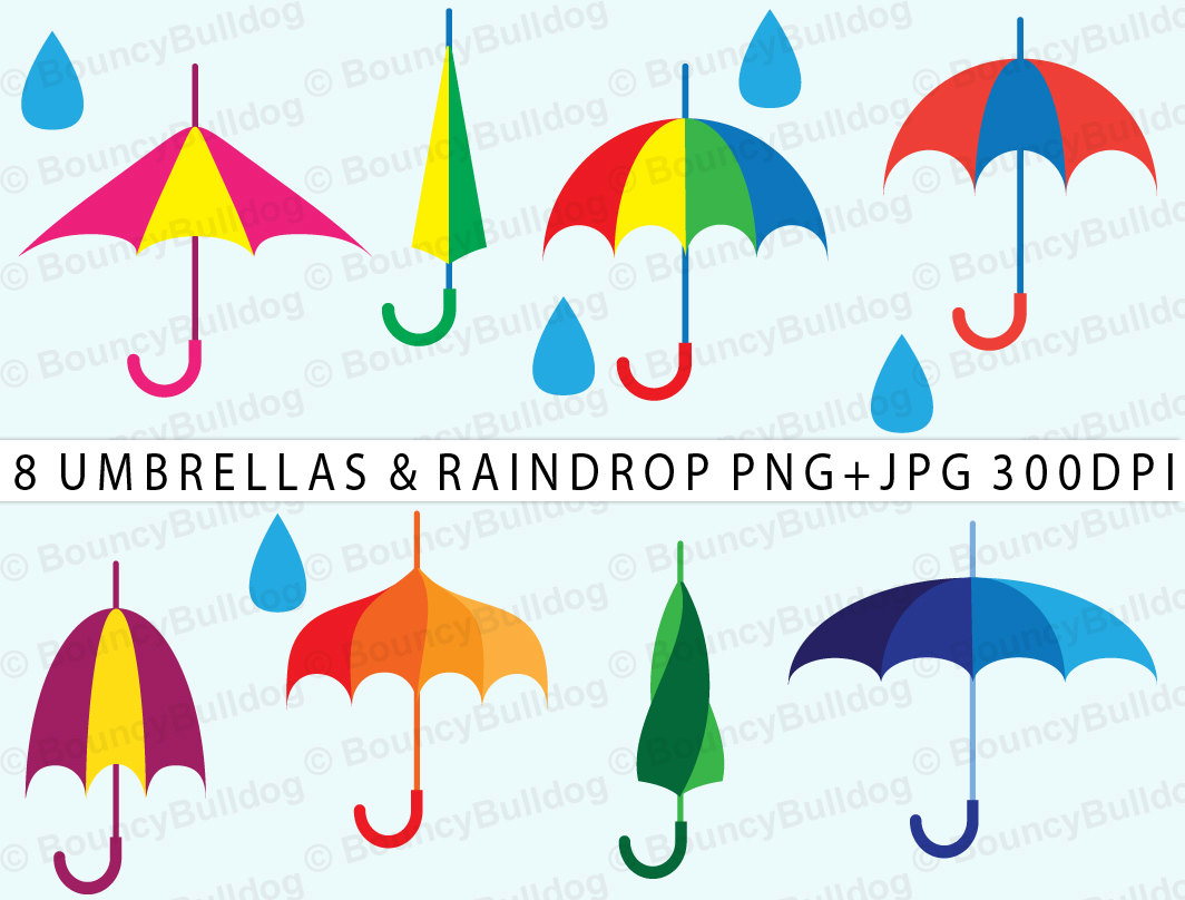 257 April Showers free clipart.