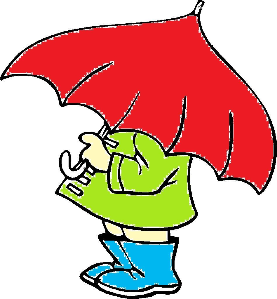 April Showers Clipart.