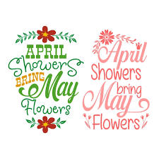 April Showers Bring May Flowers Images Pictures Poem Quotes Clipart.