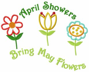 April showers bring may flowers clipart 7 » Clipart Station.