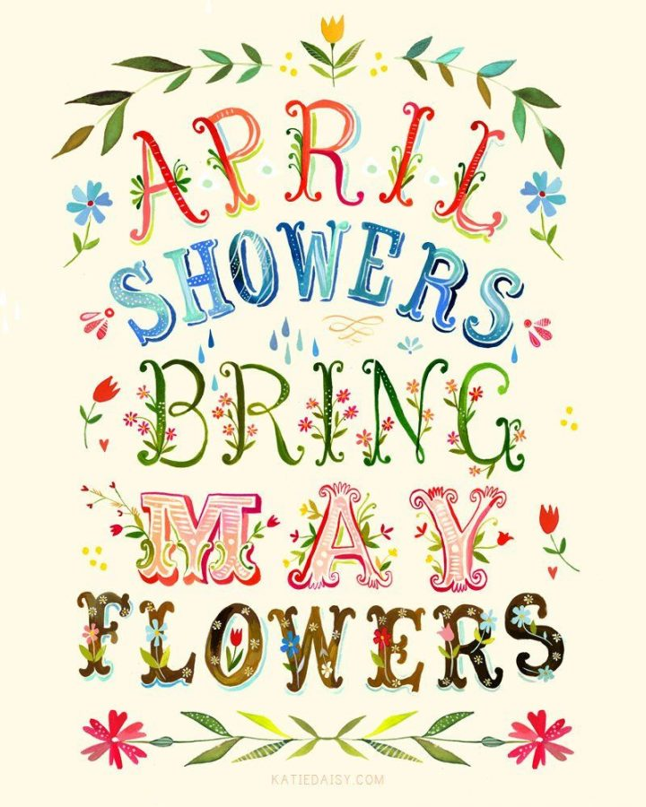 April Showers Bring May Flowers: Is it accurate?.