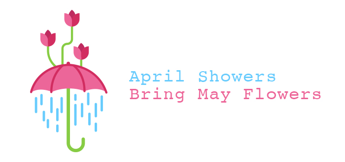 April showers bring may flowers clipart 4 » Clipart Station.