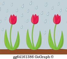 April Showers Clip Art.