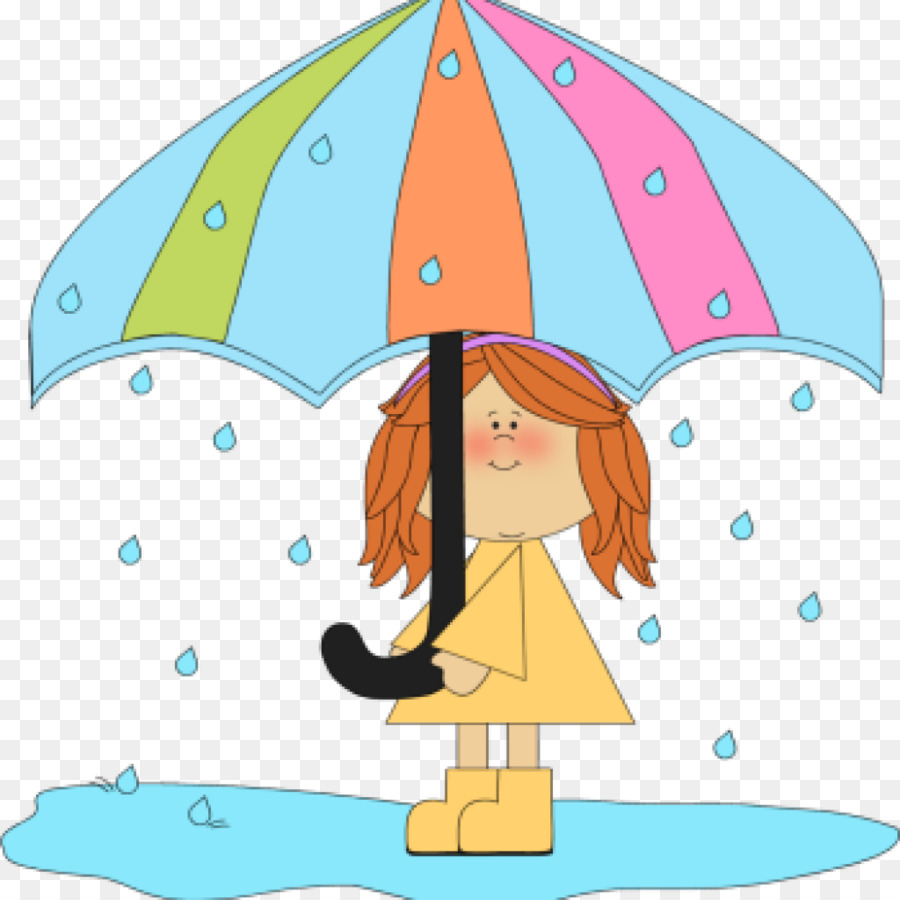 Rain April Shower Wet Season Umbrella Line.