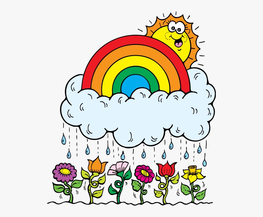 March Clipart Rain.