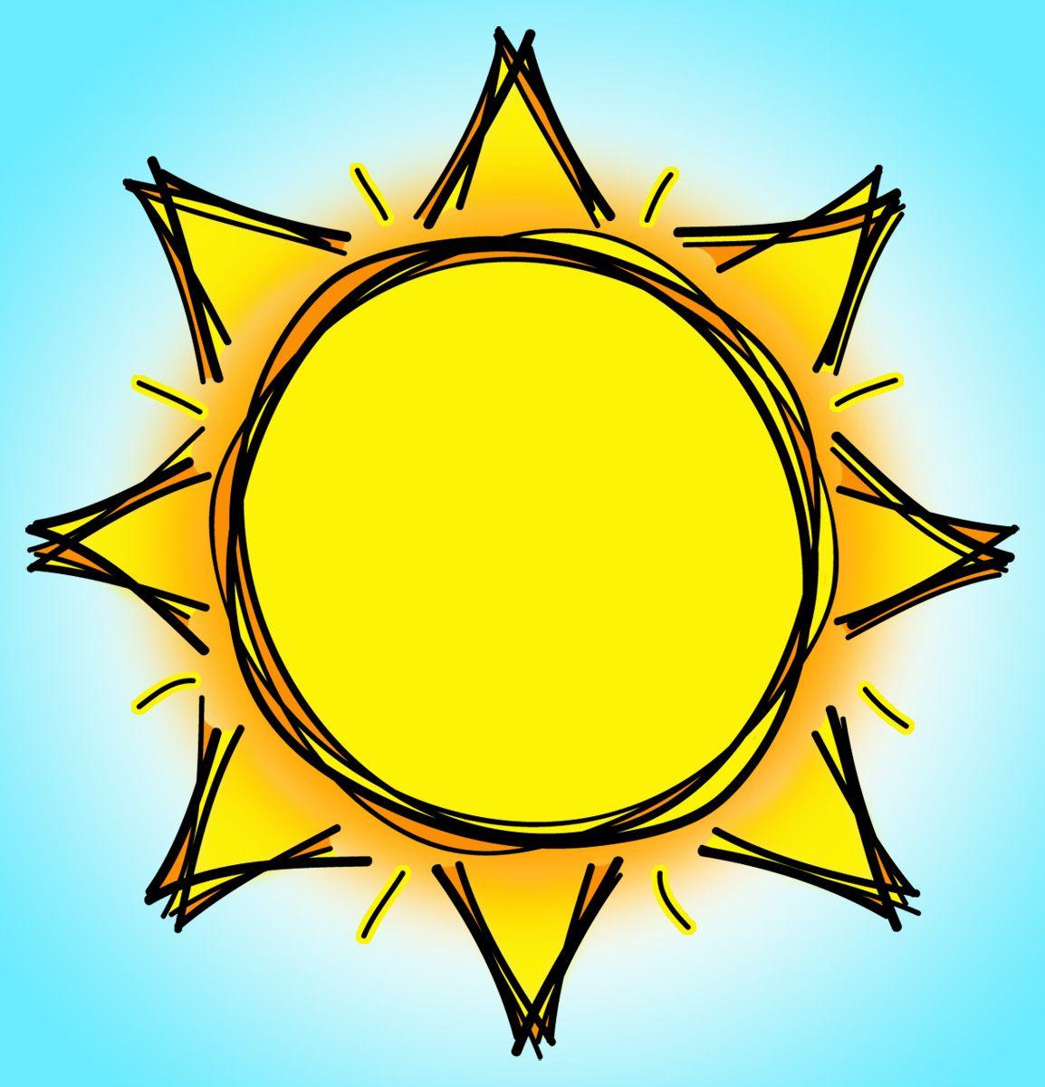 sun clipart in 2019.
