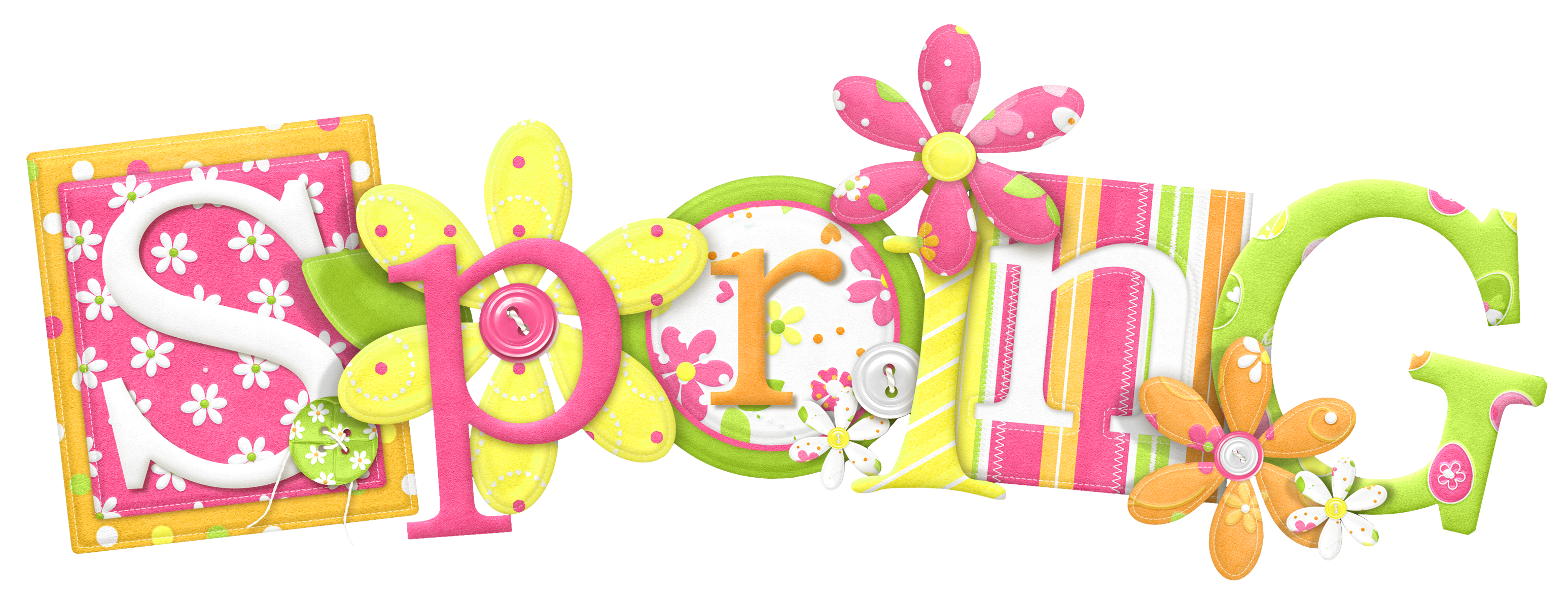 Spring PNG Clipart Picture.