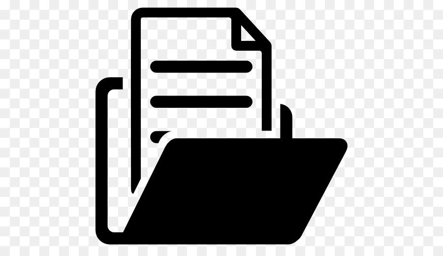 Icone di Computer File di Documento manager Directory.