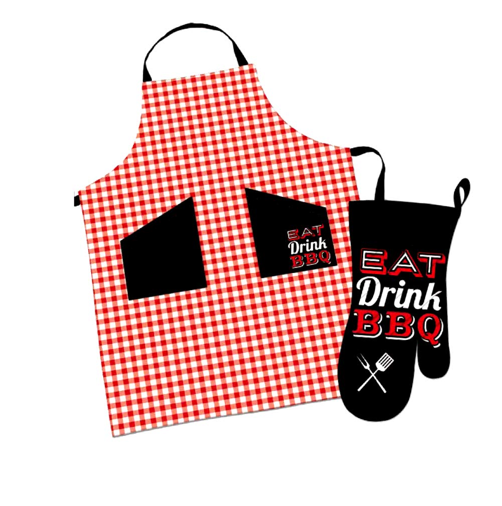 Amazon.com: Kane BBQ Grilling Apron with Pockets and Oven.