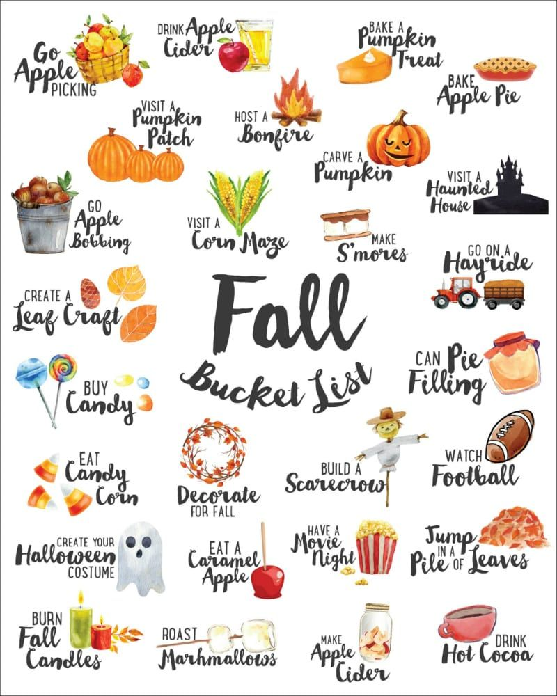We've combined our favorite ideas into this FREE Fall Bucket.