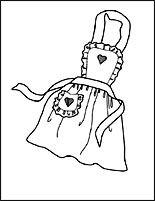 simple apron clip art.