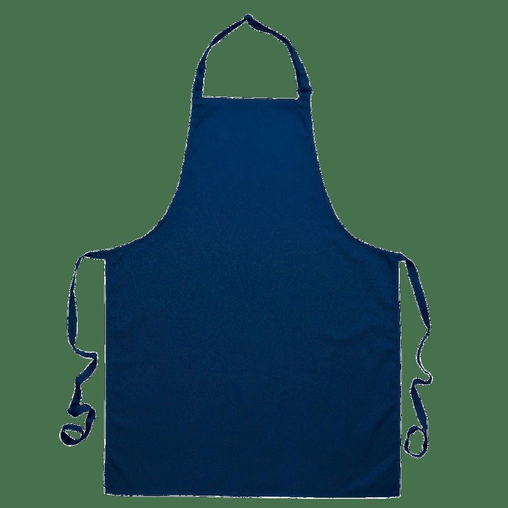 Blue Apron transparent PNG.
