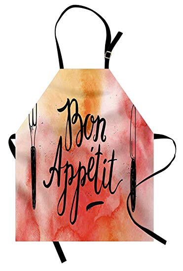 Amazon.com: Miss Sweetheart Bon Appetit Apron, Watercolor.