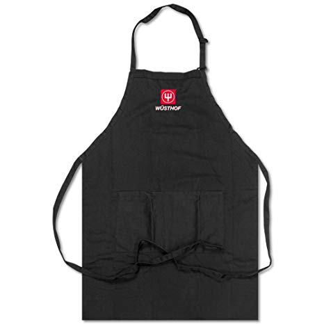 Wusthof Black Cooks Apron With Logo.