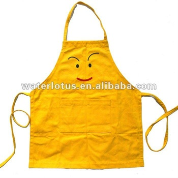 Plain Kids Apron With Logo Embroidered Cheap Cobbler Aprons For Sale.