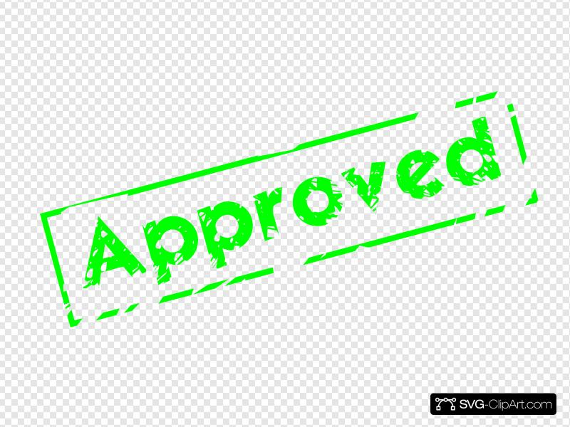 Approved Stamp Clip art, Icon and SVG.