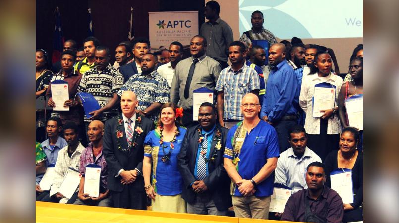 APTC graduates commended.