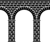 Aqueduct Clip Art and Illustration. 125 aqueduct clipart vector.