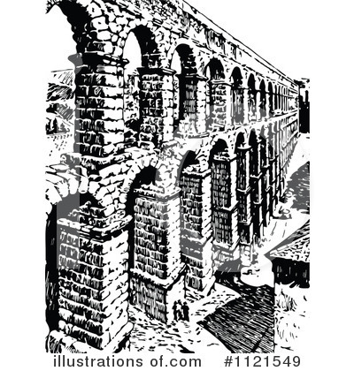 Aqueduct Clipart #1121549.