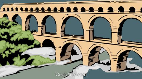 Aqueduct clipart.