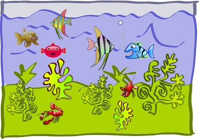 Free Aquarium Clipart.