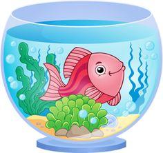 Live clipart of aquarium.