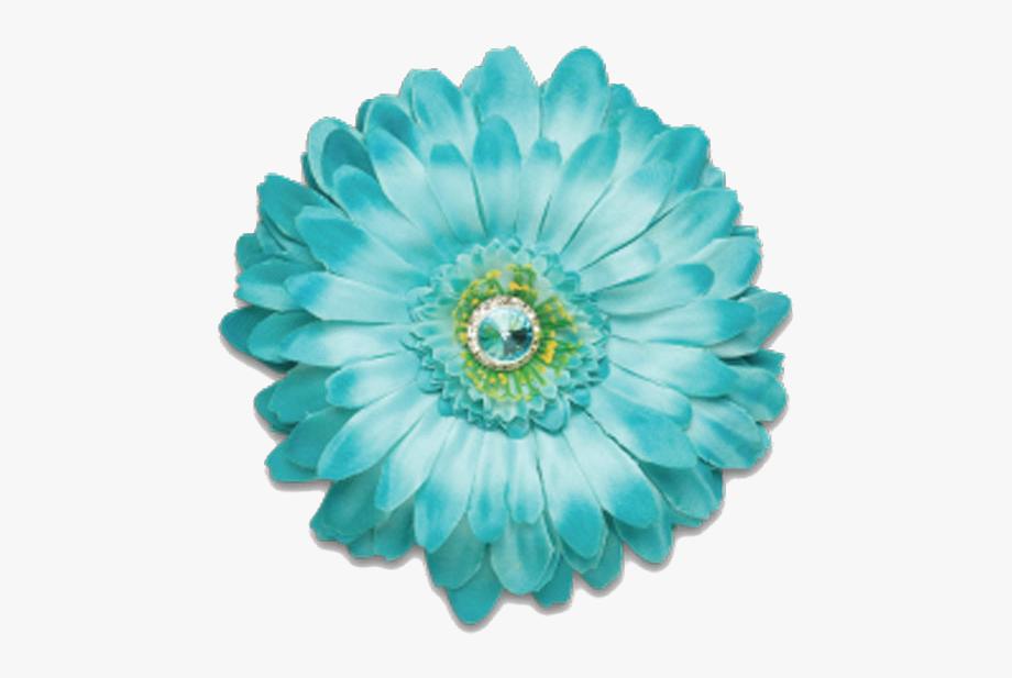Petal Clipart Aqua Flower.
