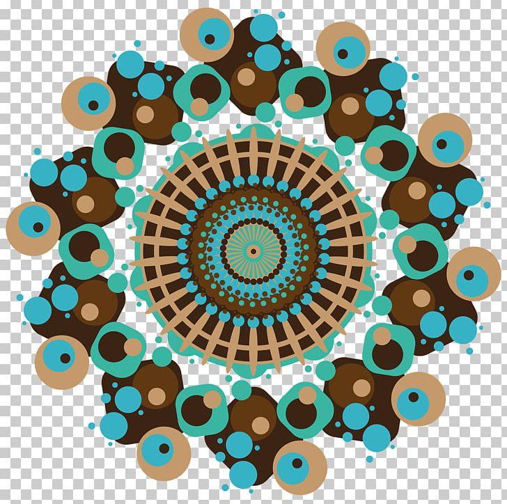 Mandala Stock Photography PNG, Clipart, Aqua, Behavior.