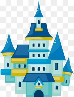 7279 Castle free clipart.