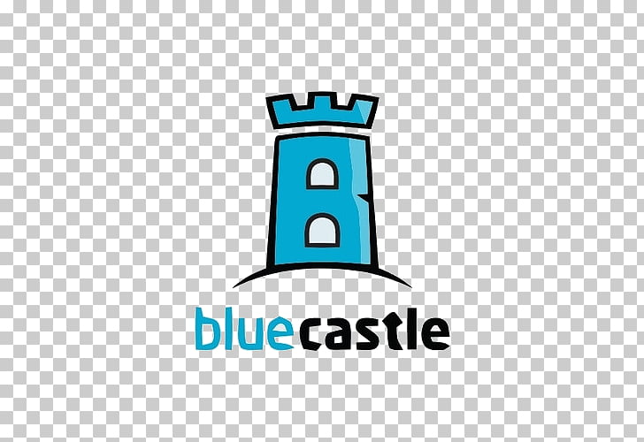 Logo Castle Home inspection, Blue Castle PNG clipart.