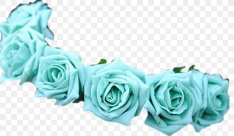 Flower Wreath Crown Blue Light, PNG, 966x563px, Flower, Aqua.
