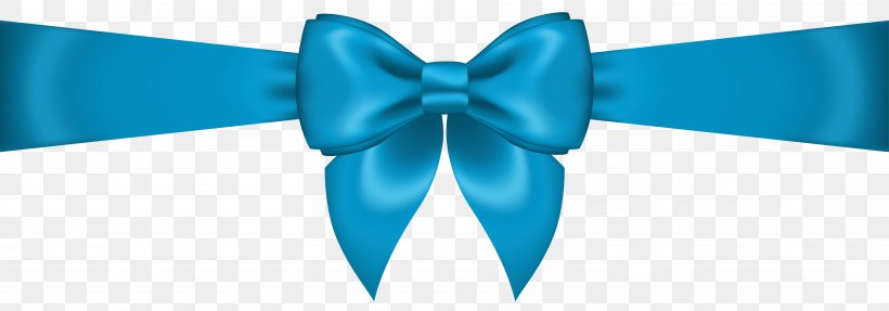 Bow Tie Blue Ribbon Product, PNG, 7562x2651px, Ribbon, Aqua.